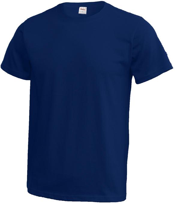 135f81cdcdcc Pánske tričko s potlačou MODRÉ (kráľovská modrá)