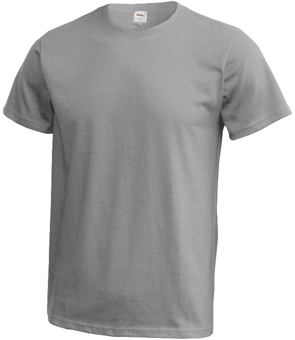 d85520c45a Pánske tričko s potlačou sivé